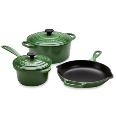 Le Creuset® 5-Piece Signature Set in Fennel