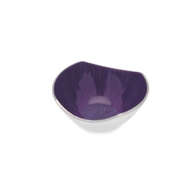 Simplydesignz Bodoni 5-Inch Bowl in Plum