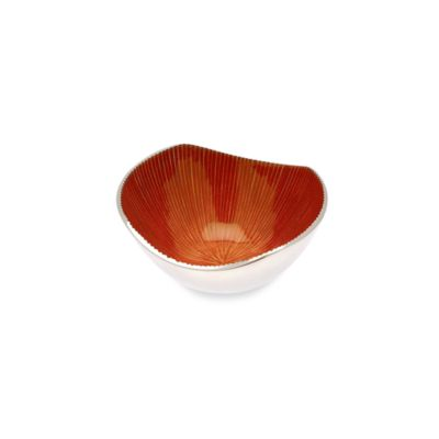 Simplydesignz Bodoni 5-Inch Bowl in Papaya Orange