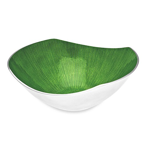 Simplydesignz Bodoni 12-Inch Bowl in Apple Green