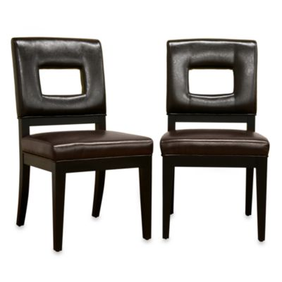 Baxton Studio Portem Dining Chair (Set of 2)