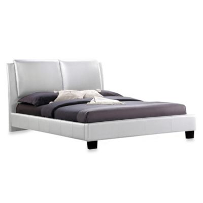 Baxton Studio Sabrina Platform Bed With Headboard