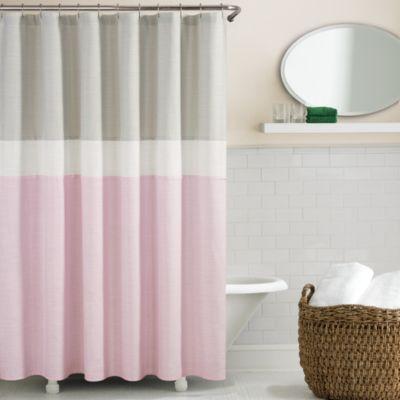 kate spade Spring Street Shower Curtain in Grey