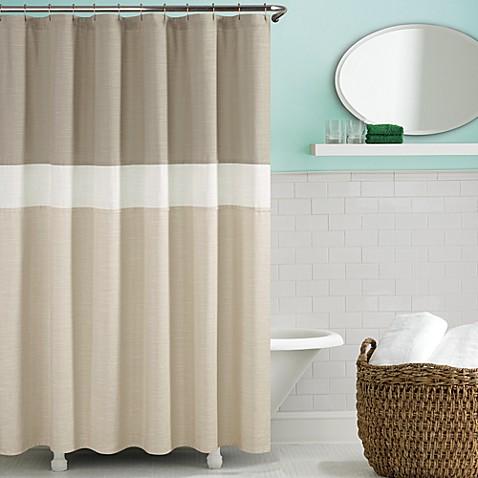 Kate Spade Spring Street Shower Curtain In Fresh Cream