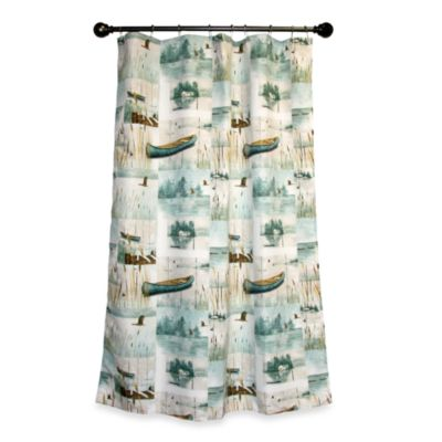 Waterside 70-Inch x 72-Inch Shower Curtain