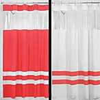 InterDesign® Hitchcock Rugby Azalea 72-Inch x 72-Inch Shower Curtain