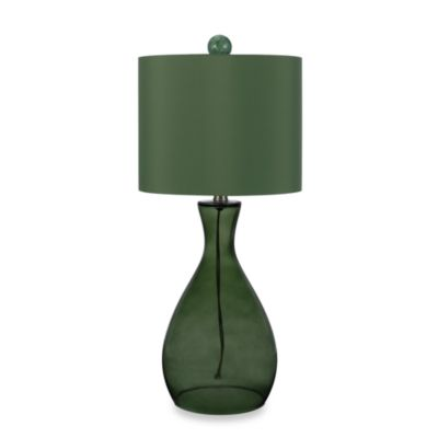 angelo:HOME Glass Table Lamp in Green