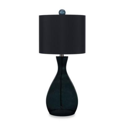 Glass Table Lamp in Smoke