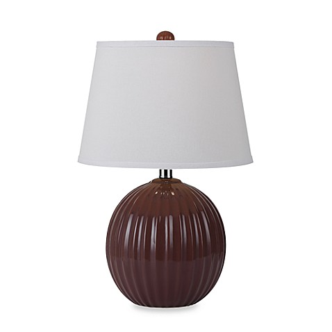 angelo:HOME Ceramic Lamp in Red