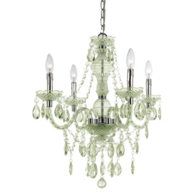 AF Lighting Naples Chrome Mini-Chandelier