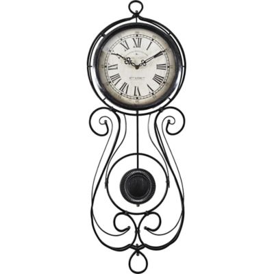 Chateau Betton Pendulum Wall Clock