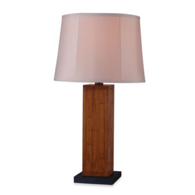 Lakely Indoor/Outdoor Teak Table Lamp