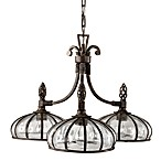 Uttermost 3-light Iron Galeana Chandelier