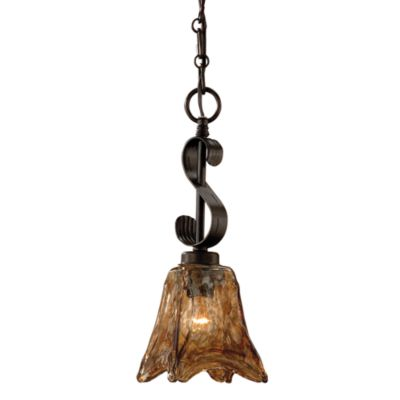 Uttermost Metal Oil-rubbed Bronze Vetraio Mini-pendant Lamp