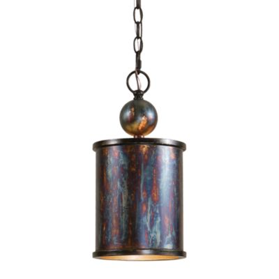 Uttermost 1-light Metal Bronze Albiano Mini-pendant Lamp