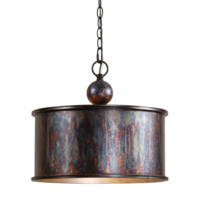 Uttermost 1-light Metal Bronze Albiano Oxidized Pendant