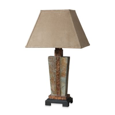 Uttermost Slate Copper Accent Lamp