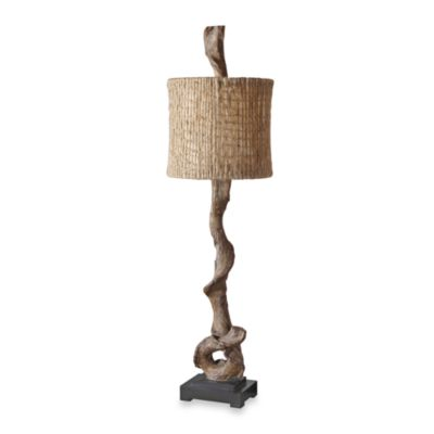 Uttermost Resin Driftwood Buffet Lamp