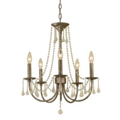 AF Lighting Tracee Metal Mini-Chandelier