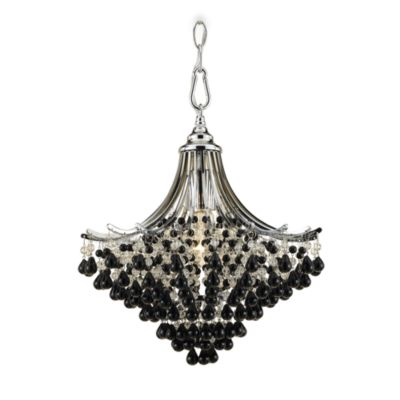 AF Lighting Chrome Spellbound Mini-Chandelier