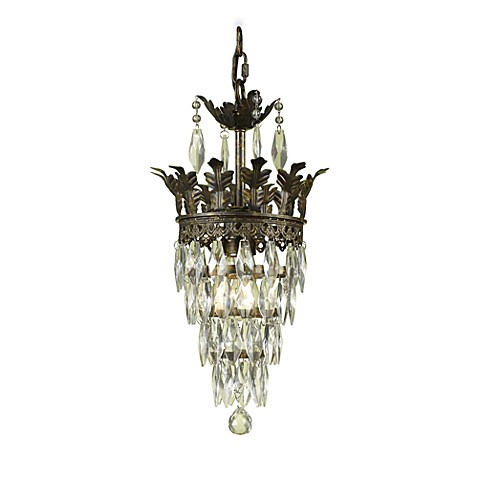 Buy af lighting sovereign candle base mini chandelier with - Small crystal chandelier for bathroom ...