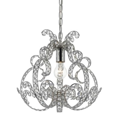 AF Lighting Splendor Chrome Mini-Chandelier