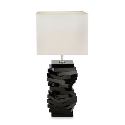 Gallery Resin Spiral Table Lamp