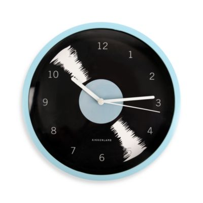 Kikkerland® Record Wall Clock