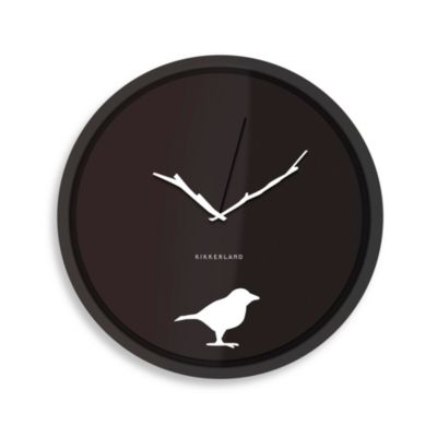 Kikkerland® Early Bird Wall Clock