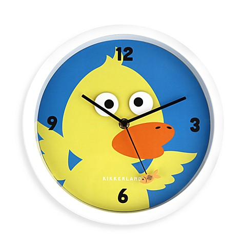 Kikkerland® Duck Eyes Wall Clock
