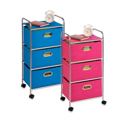 Blue Storage Drawers