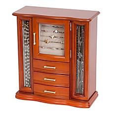 Jewelry boxes jewelry chest jewelry case for Reed barton athena jewelry box