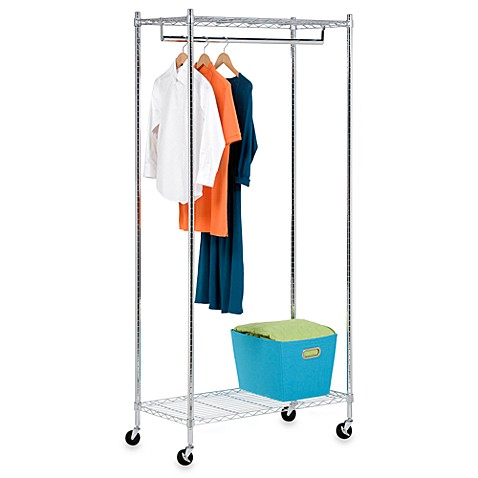 Honey-Can-Do® Garment Rack in Chrome