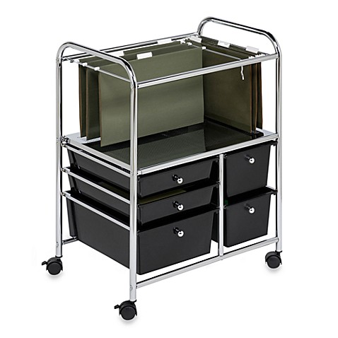 Innovative Studio 3B 4 Drawer Storage Cart Tall In Peacockquotis Not Available