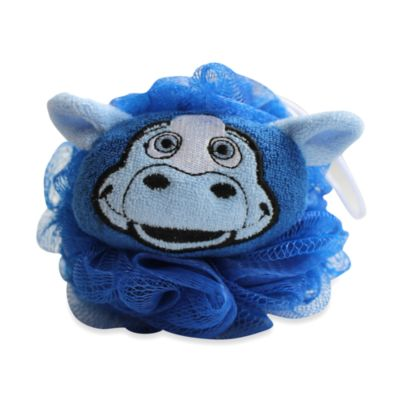 Blue Bath Loofahs