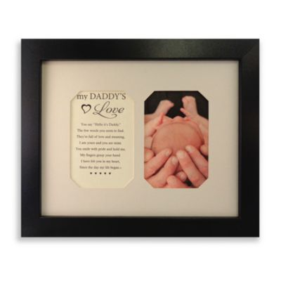 My Daddy's Love Photo Sentiment Frame