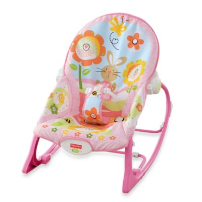 Fisher-Price® Pink Bunny Infant to Toddler Rocker - from Fisher Price