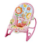 Fisher Price® Pink Bunny Infant to Toddler Rocker