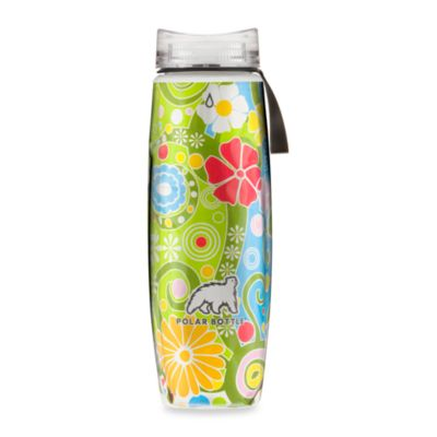 Polar Bottles® Ergo Flower Candy 22-Ounce Sport Water Bottle