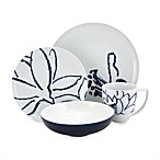 Nikko Artist Blue 4-Piece Porcelain Place Setting