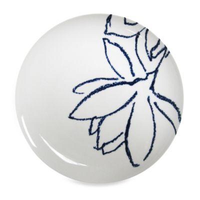 Nikko Artist Blue Porcelain Platter