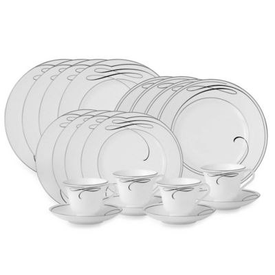 Waterford® Ballet Ribbon 20-Piece Dinnerware Set