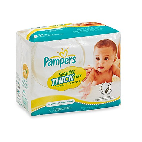 Pampers® Sensitive® 180-Count Baby Wipes Refill Pack