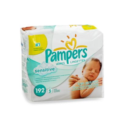 Pampers® Stages™ Sensitive Baby Wipes Refill Pack (192 Count)