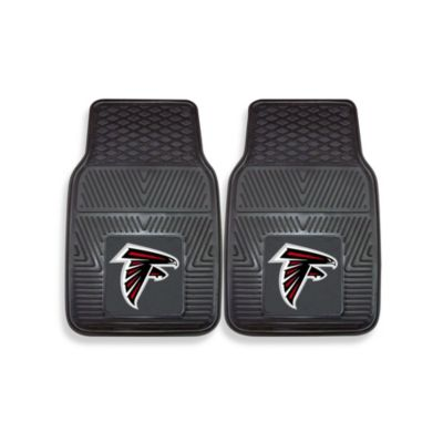 NFL Atlanta Falcons Vinyl Car Mats (Set of 2)