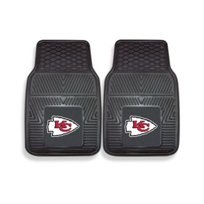 NFL Kansas City Chiefs Vinyl Car Mats (Set of 2)