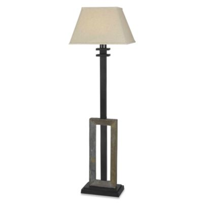 Kenroy Home Egress Indoor/Outdoor Slate Floor Lamp