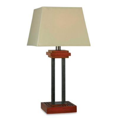 Kenroy Home Hadley Indoor/Outdoor Cherry Table Lamp