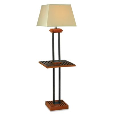 Kenroy Home Hadley Indoor/Outdoor Cherry Floor Lamp