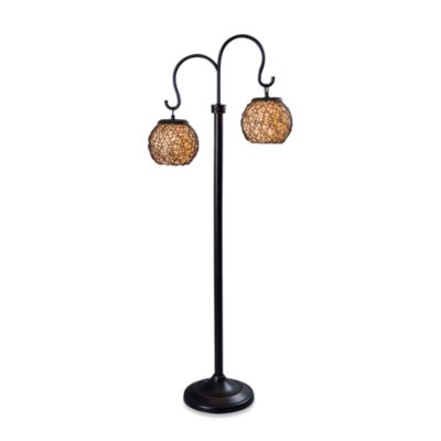 Kenroy Home Castillo Indoor/Outdoor Floor Lamp in Bronze